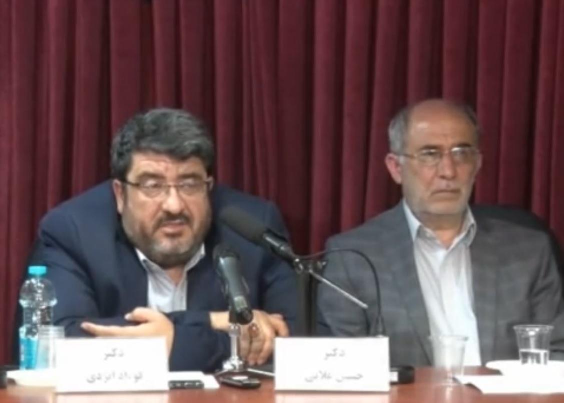 سخنرانی دکتر ایزدی در نشست ایران و آرایش جنگی