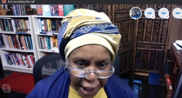 .Professor McCloud talks about Racism in U.S