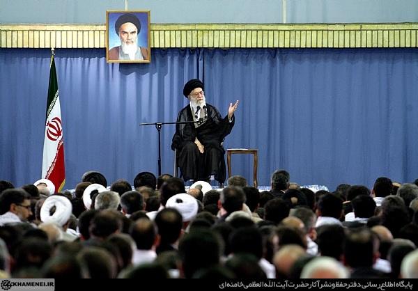 بیانات رهبر معظم انقلاب اسلامی در دیدار اعضای بسیجی هیأت علمی دانشگاهها